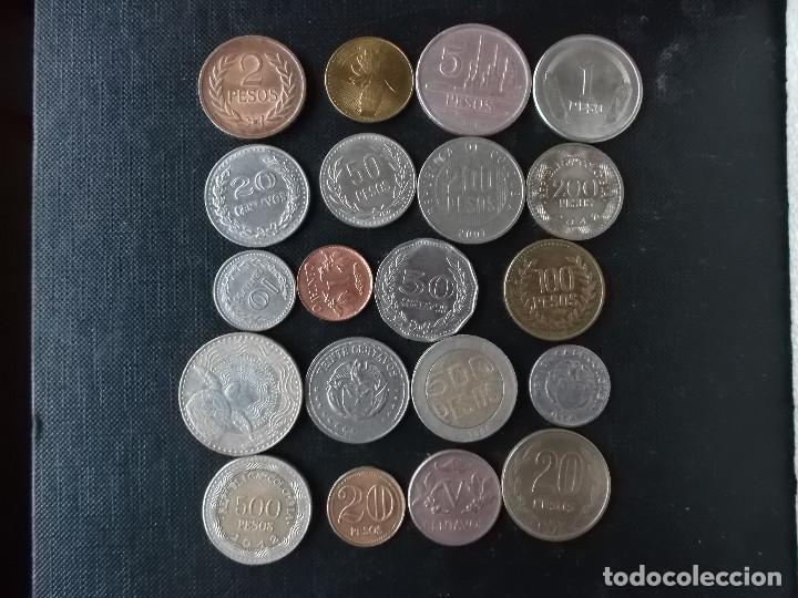 Monedas antiguas de América: coleccion de monedas de Colombia - Foto 2 - 142929478