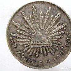 Monedas antiguas de América: MEXICO. 8 REALES 1886 ZACATECAS FZ. Lote 143134302