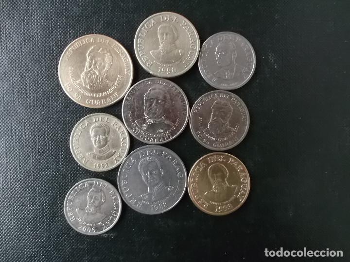 COLECION DE MONEDAS DE PARAGUAY (Numismática - Extranjeras - América)