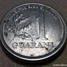Monedas antiguas de América: MONEDA 1 GUARANI. PARAGUAY. 1980. CIRCULADA.. Lote 143496290