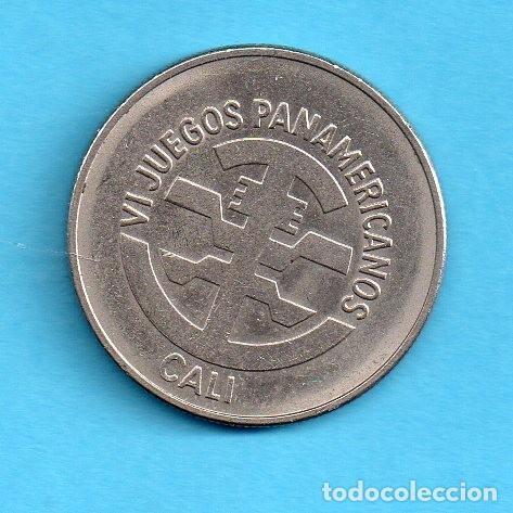 COLOMBIA 5 PESOS, 1971 S/C VI JUEGOS PANAMERICANOS CALI (Numismática - Extranjeras - América)