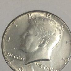 Monedas antiguas de América: ESTADOS UNIDOS PLATA MEDIO DÓLAR 1969. Lote 144355213