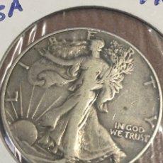 Monedas antiguas de América: ESTADOS UNIDOS MEDIO DÓLAR 1942 PLATA. Lote 144355612