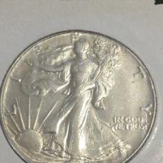 Monedas antiguas de América: ESTADOS UNIDOS MEDIO DÓLAR DE PLATA 1946. Lote 144355702