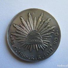 Monedas antiguas de América: MEXICO * 8 REALES 1888 RR GUANAJUATO * PLATA. Lote 194915643