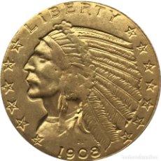 Monedas antiguas de América: MONEDA ORO. Lote 156953369