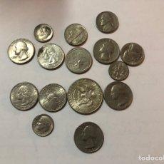 Monedas antiguas de América: LOTE DE MONEDAS AMERICANAS. Lote 144897221