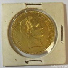 Monedas antiguas de América: MONEDA ORO VENEZUELA SIMON BOLIVAR LIBERTADOR AÑO 1886 LEI 900 PACHANO. Lote 145020638