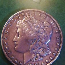 Monedas antiguas de América: 1 DOLAR DE PLATA DE 1884 DE EEUU . Lote 145366334