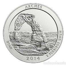 Monedas antiguas de América: USA 2014 1/4 DOLAR ARCHES D. Lote 145544022