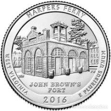Monedas antiguas de América: USA 2016 1/4 DOLAR HARPERS FERRY D. Lote 155691612