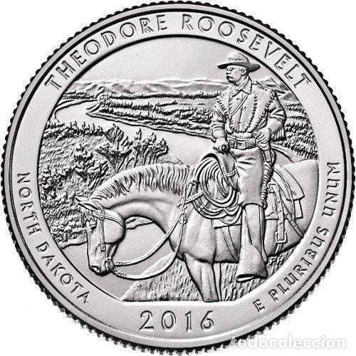 USA 2016 1/4 DOLAR THEODORE ROOSEVELT D (Numismática - Extranjeras - América)