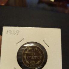 Monedas antiguas de América: MONEDA DE 5 CINCO CÉNTIMOS 1929 VENEZUELA.. Lote 145907694