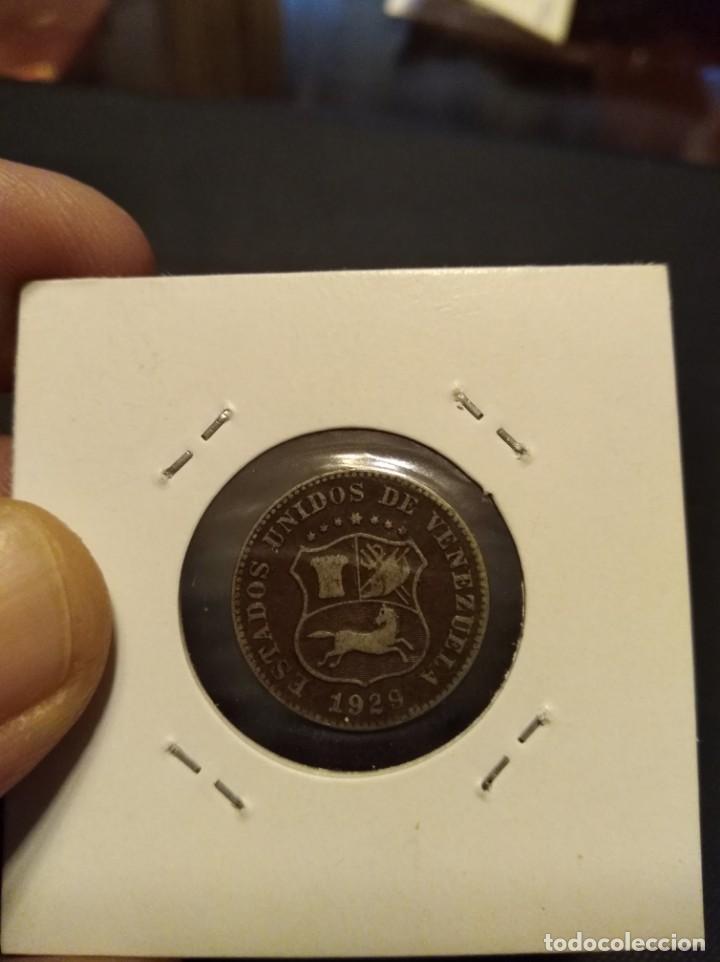 Monedas antiguas de América: MONEDA DE 5 CINCO CÉNTIMOS 1929 VENEZUELA. - Foto 4 - 145907694