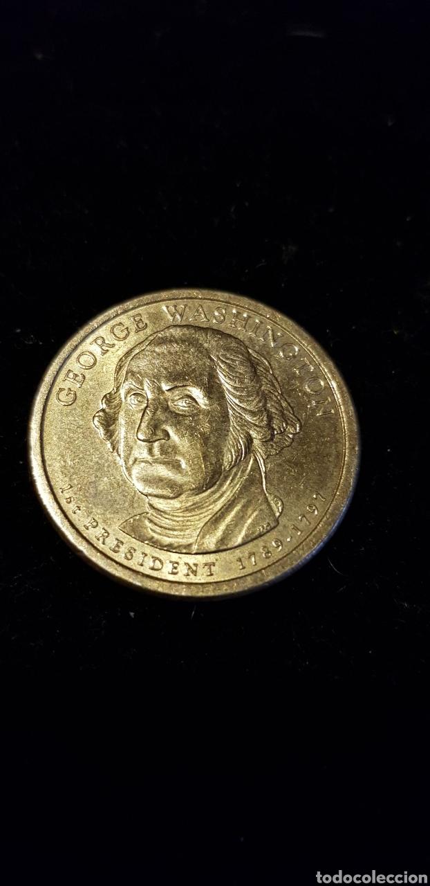 DOLAR GEORGE WASHINGTON 1789-1797 (Numismática - Extranjeras - América)