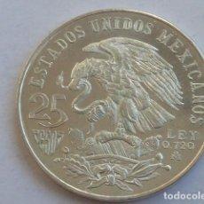 Monedas antiguas de América: MONEDA DE PLATA DE 25 PESOS MEXICO 1968 OLIMPIADA, PESA 22,6 GRAMOS. Lote 146415270
