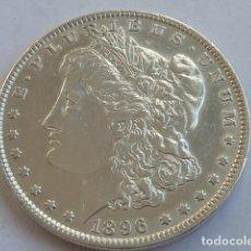 Monedas antiguas de América: MONEDA DE PLATA DE 1 DOLAR MORGAN DE 1896 ESTADOS UNIDOS CECA DE FILADELFIA. Lote 146427950