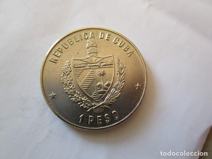 Monedas antiguas de América: CUBA . UN PESO DE 1981 . SIN CIRCULAR - Foto 2 - 146445686