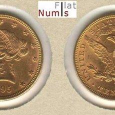 Monedas antiguas de América: ESTADOS UNIDOS - 10 DOLARES - 1895 - ORO - SIN CIRCULAR. Lote 146721438