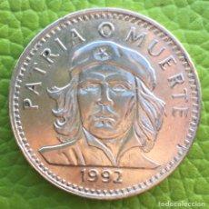 Monedas antiguas de América: CUBA. TRES PESOS.1992. CHE GUEVARA.. Lote 147105784