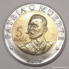 Monedas antiguas de América: CUBA 5 PESOS 2016 SIN CIRCULAR. Lote 188828141