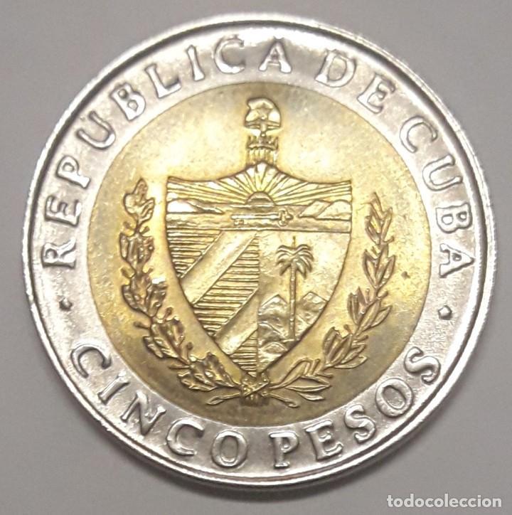 Monedas antiguas de América: CUBA 5 PESOS 2016 SIN CIRCULAR - Foto 2 - 188828141