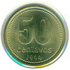Monedas antiguas de América: ARGENTINA 50 CENTAVOS 1994 ( SC ) KM # 111.1. Lote 147555450