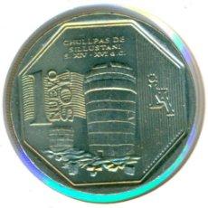 Monedas antiguas de América: PERÚ 1 SOL 2011 ( SC ) KM # 345 - CHULLPAS DE SILLUSTANI. Lote 147555502