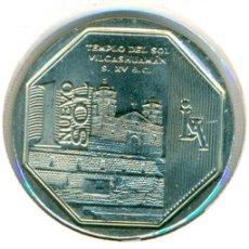 Monedas antiguas de América: PERÚ 1 SOL 2012 ( SC ) KM # 364 - TEMPLO DEL SOL VILCASHUAMAN. Lote 147555542