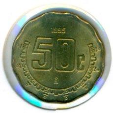 Monedas antiguas de América: MÉXICO MÉJICO 50 CENTAVOS 1995 ( SC ) KM # 452. Lote 147555594
