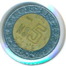 Monedas antiguas de América: MÉXICO MÉJICO 5 NUEVO PESOS 1994 ( BC ) KM # 552. Lote 147555614