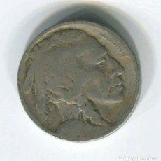 Monedas antiguas de América: USA. ESTADOS UNIDOS, 5 CENTAVOS, INDIO Y BUFALO. NO SE VE LA FECHA.. Lote 147725634