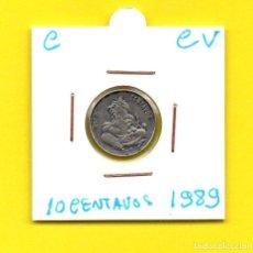 Monedas antiguas de América: REPUBLICA DOMINICANA 10 CENTAVOS 1989 - [C - CV]. Lote 147728462