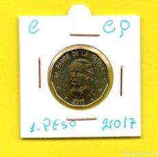Monedas antiguas de América: REPUBLICA DOMINICANA 1 PESO 2017 - [C - CQ]. Lote 147728926