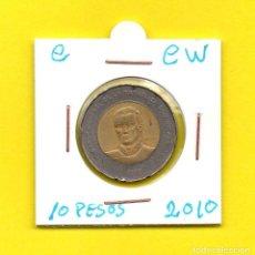 Monedas antiguas de América: REPUBLICA DOMINICANA 10 PESOS 2010 - [C - CW]. Lote 147729490