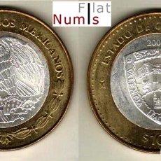 Monedas antiguas de América: MEJICO - 100 PESOS - 2005 - CHIHUAHUA - NO CIRCULADA. Lote 147744210