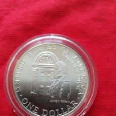 Monedas antiguas de América: 1 DOLLAR USA 1992 PLATA. Lote 148023910