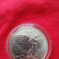 Monedas antiguas de América: 1 DOLLAR USA 1991 PLATA. Lote 148024834