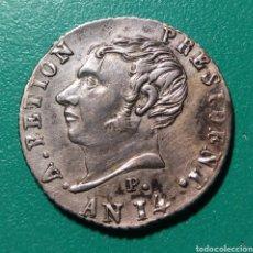 Monedas antiguas de América: REPUBLIQUE DE HAYTI. 25 CÉNTIMOS PLATA. 1817. A.PETION.. Lote 148590693