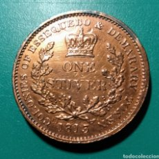 Monedas antiguas de América: ESSEQUEBO & DEMARARY. ONE STIVER COBRE. 1813. JORGE III.. Lote 148683806
