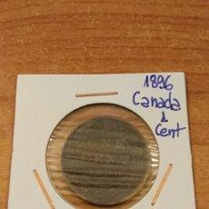 Monedas antiguas de América: CANADÁ 1896 1 CENT. Lote 148696897