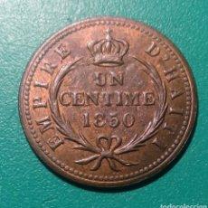Monedas antiguas de América: HAITÍ. 1 CENTÍME DE COBRE. 1850. Lote 148700729