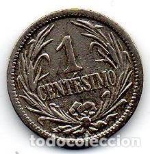 URUGUAY MONEDA 1 CENTESIMO 1901 (Numismática - Extranjeras - América)