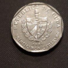 Monedas antiguas de América: CUBA 25 CENTAVOS 1994. Lote 148847206