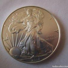 Monedas antiguas de América: ESTADOS UNIDOS . 1 ONZA DE PLATA PURA . 2018 . TOTALMENTE SC. Lote 150317972