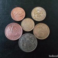 Monedas antiguas de América: COLECCION DE MONEDAS DE GUAYANA BRITANICA . Lote 149041158