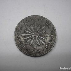 Monedas antiguas de América: URUGUAY , 2 CENTESIMOS DE METAL DE 1869 A.. Lote 149310230