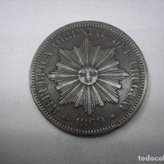 Monedas antiguas de América: URUGUAY, 4 CENTESIMOS DE COBRE DE 1869 A. Lote 149459642