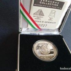 Monedas antiguas de América: MONEDA DE PLATA PURA 0.999/1000 MEXICO 1/2 ONZA BAJORRELIEVE DE TAJIN 10000 AÑO 1993. Lote 149701934