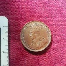 Monete antiche di America: CANADA. EXCELENTE CENT DE 1918. Lote 150026610
